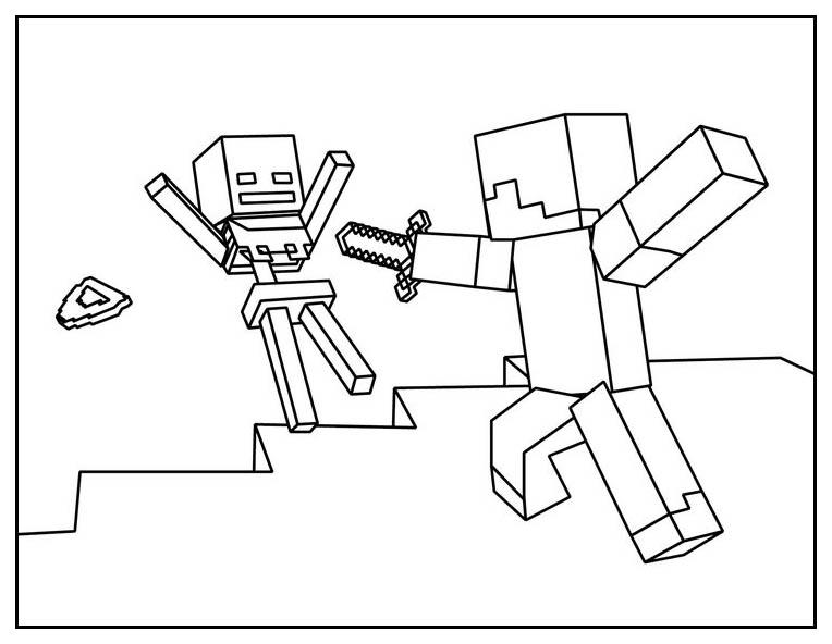 Minecraft Free To Color For Children Minecraft Kids