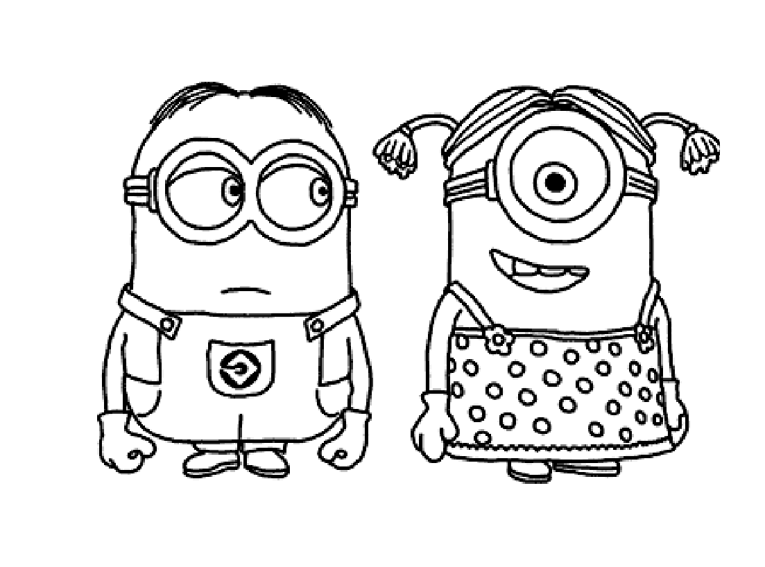 Kleurplaten Mandala Minions.Minions To Download Minions Kids Coloring Pages