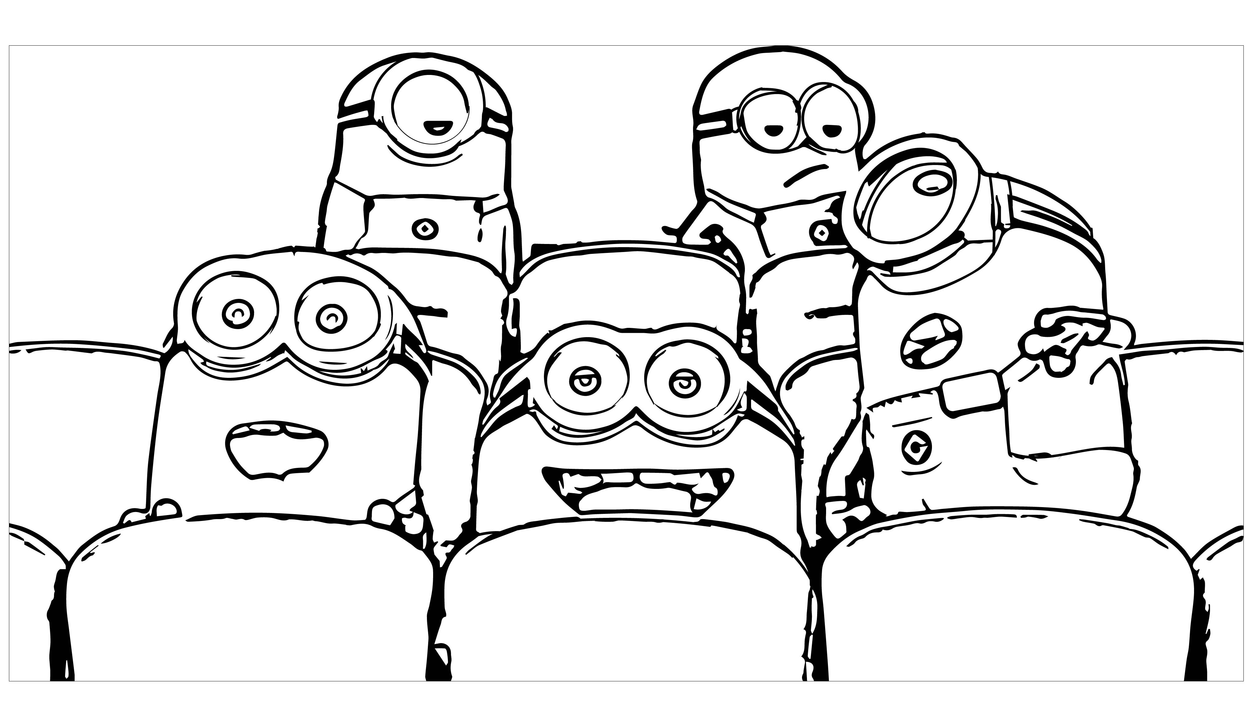 Minions to download - Minions Kids Coloring Pages