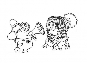 Minions Free Printable Coloring Pages For Kids Page 3