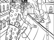 Miraculous Lady Bug Coloring Pages for Kids