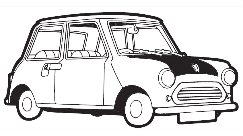 Mr bean for children - Mr Bean Kids Coloring Pages