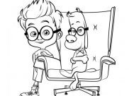 Mr Peabody & Sherman Coloring Pages for Kids