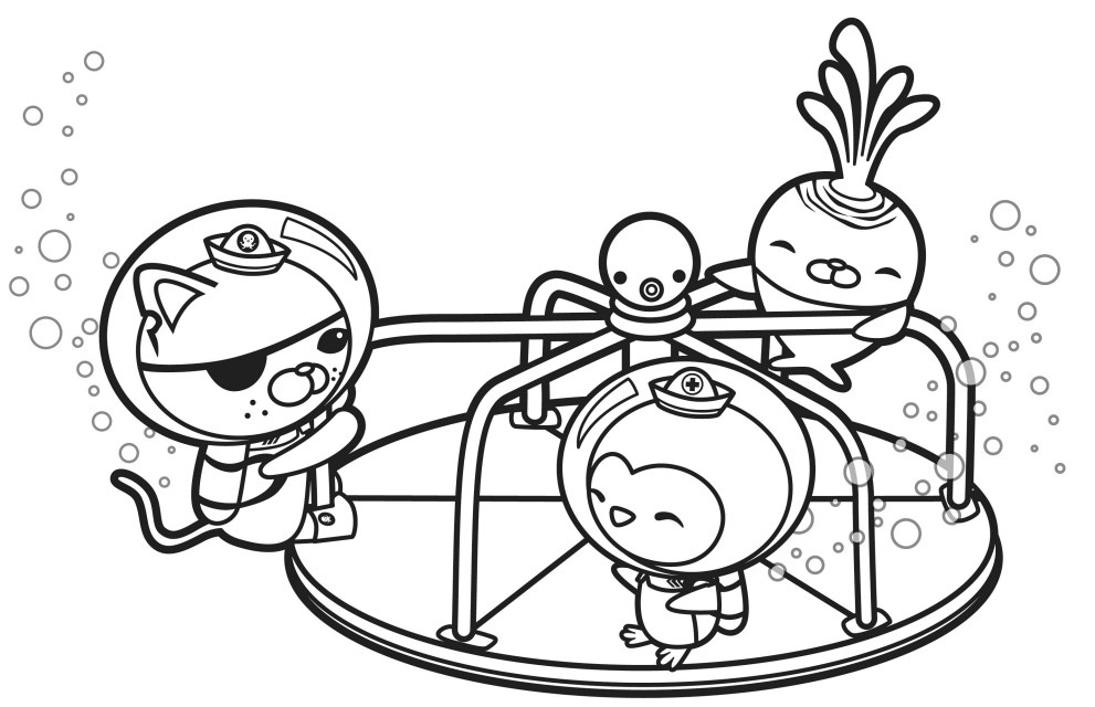 Octonauts for kids - Octonauts Kids Coloring Pages
