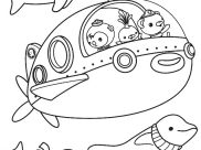 Octonauts Coloring Pages for Kids