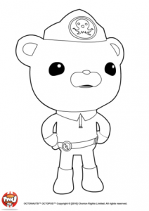 Coloring page octonauts to print