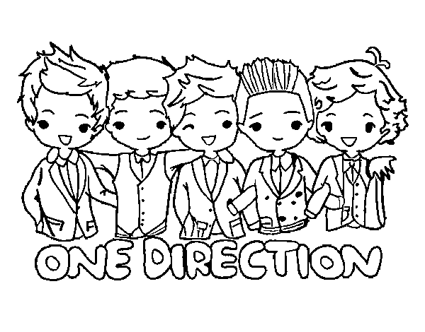 One Direction To Download For Free One Direction Kids Coloring Pages