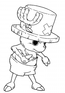 Coloring page one piece to print