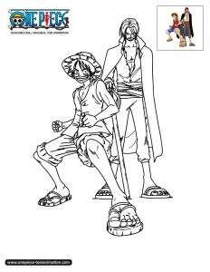 Coloring page one piece to print for free