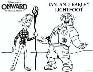 Coloring page onward for kids