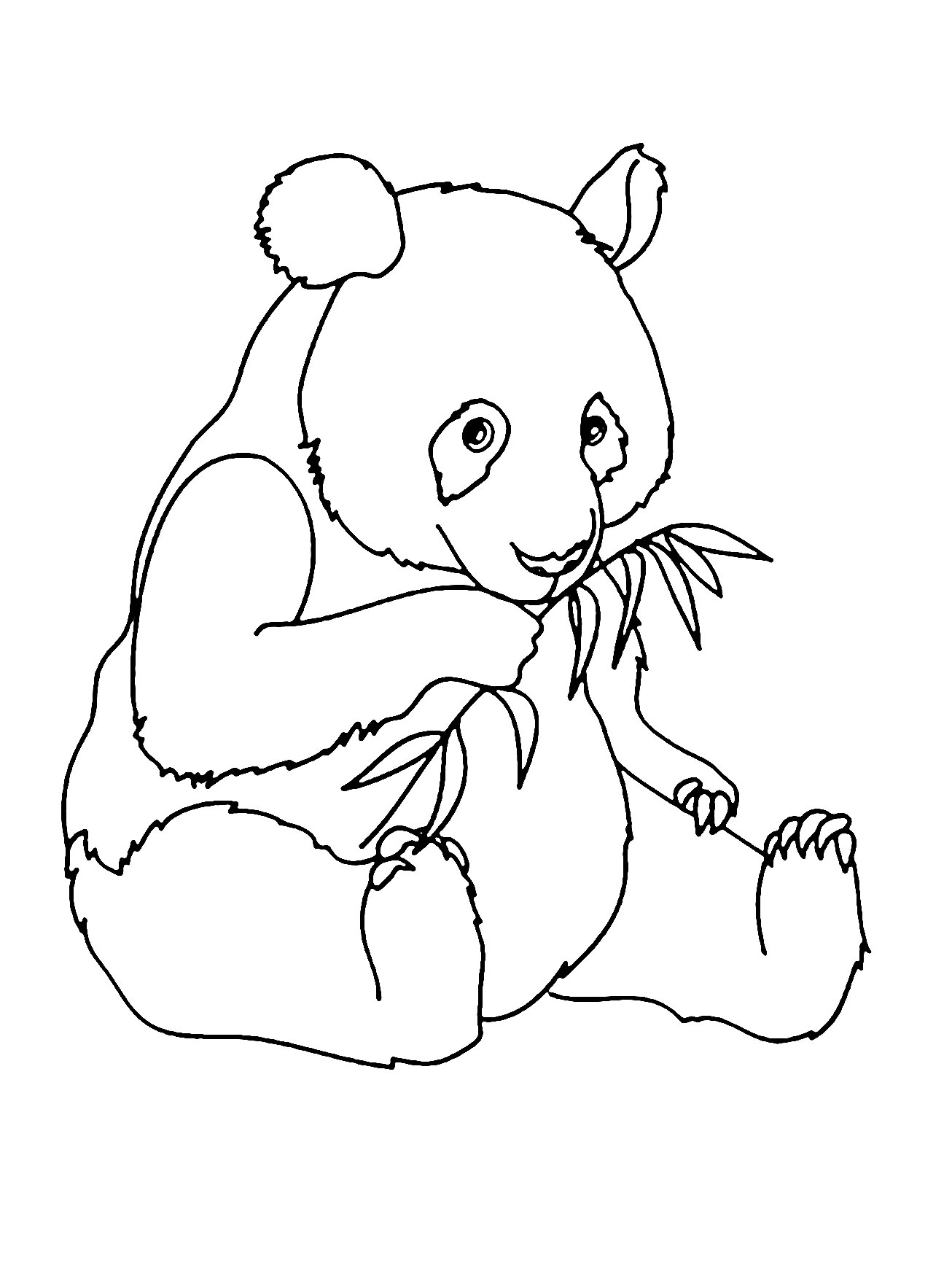 Pandas to download - Pandas Kids Coloring Pages