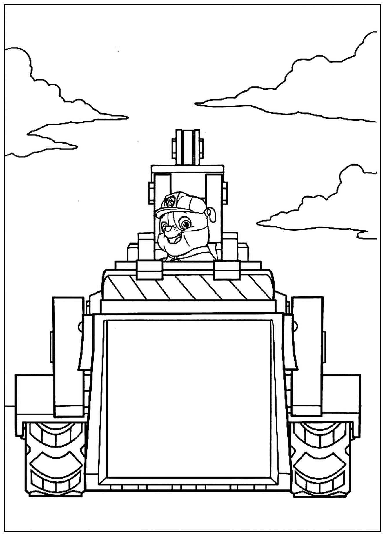 Paw Patrol To Color For Kids Paw Patrol Kids Coloring Pages