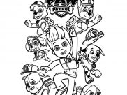 Paw Patrol Coloring Pages for Kids