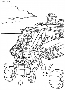 paw patrol - free printable coloring pages for kids - page 2