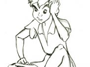 Peter Pan Coloring Pages for Kids