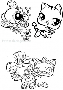 Coloring page petshop to download for free