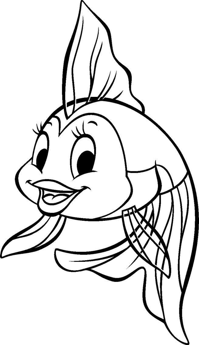 Simple Pinoccio coloring page