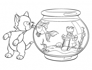 Coloring page pinoccio to print