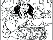 Pirates of the Caribbean Coloring Pages for Kids