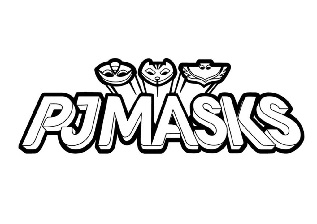 PJ Masks coloring page to download
