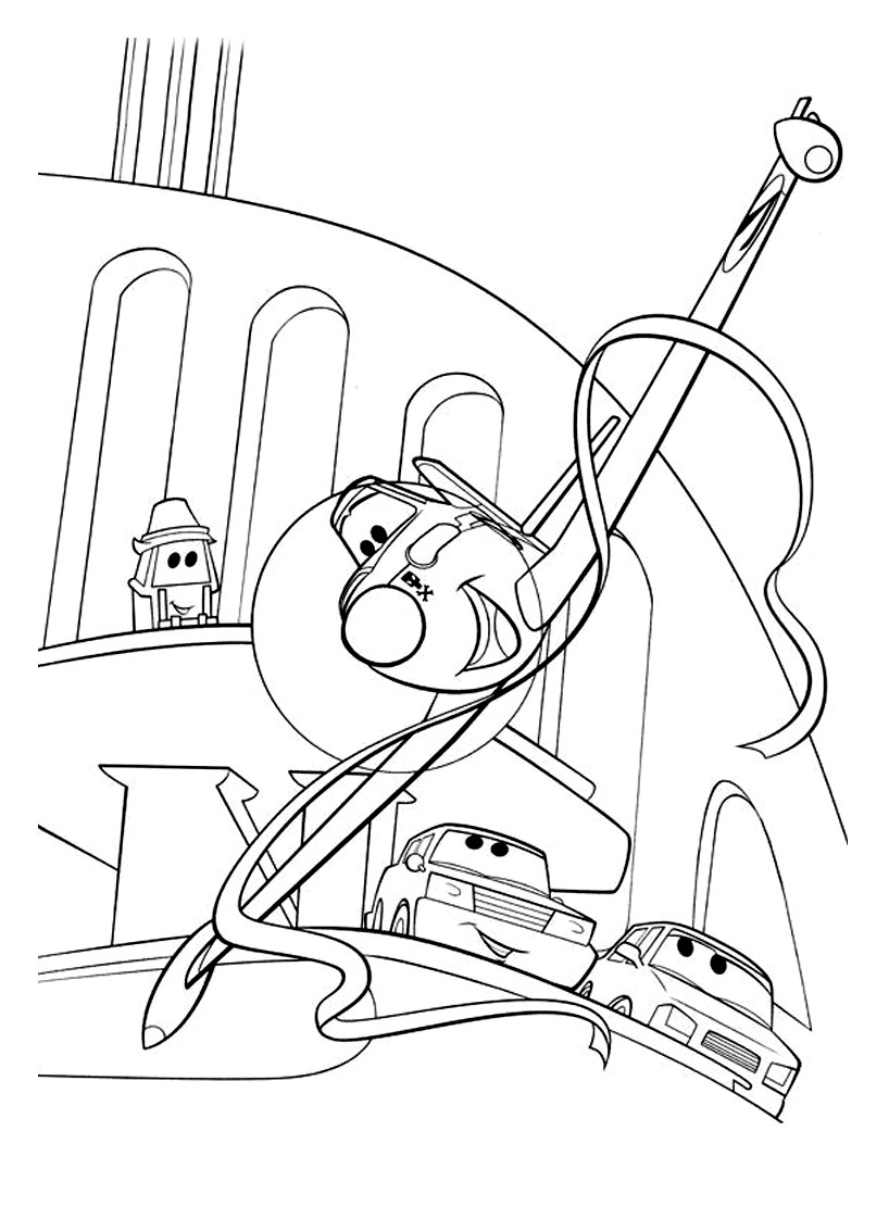 coloring pages of planes - photo#37