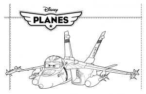 Coloring page planes to download