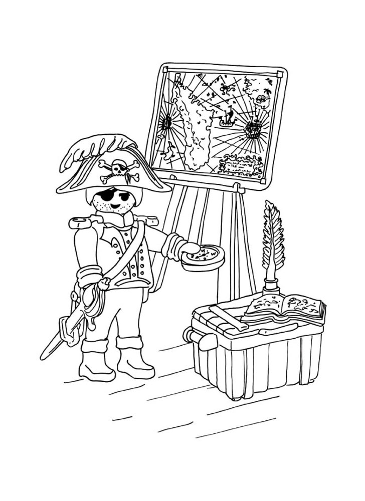 Playmobils for children playmobils kids coloring pages - Playmobil coloriage ...