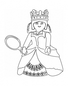 Coloring page playmobils free to color for kids