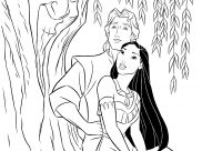 Pocahontas Coloring Pages for Kids