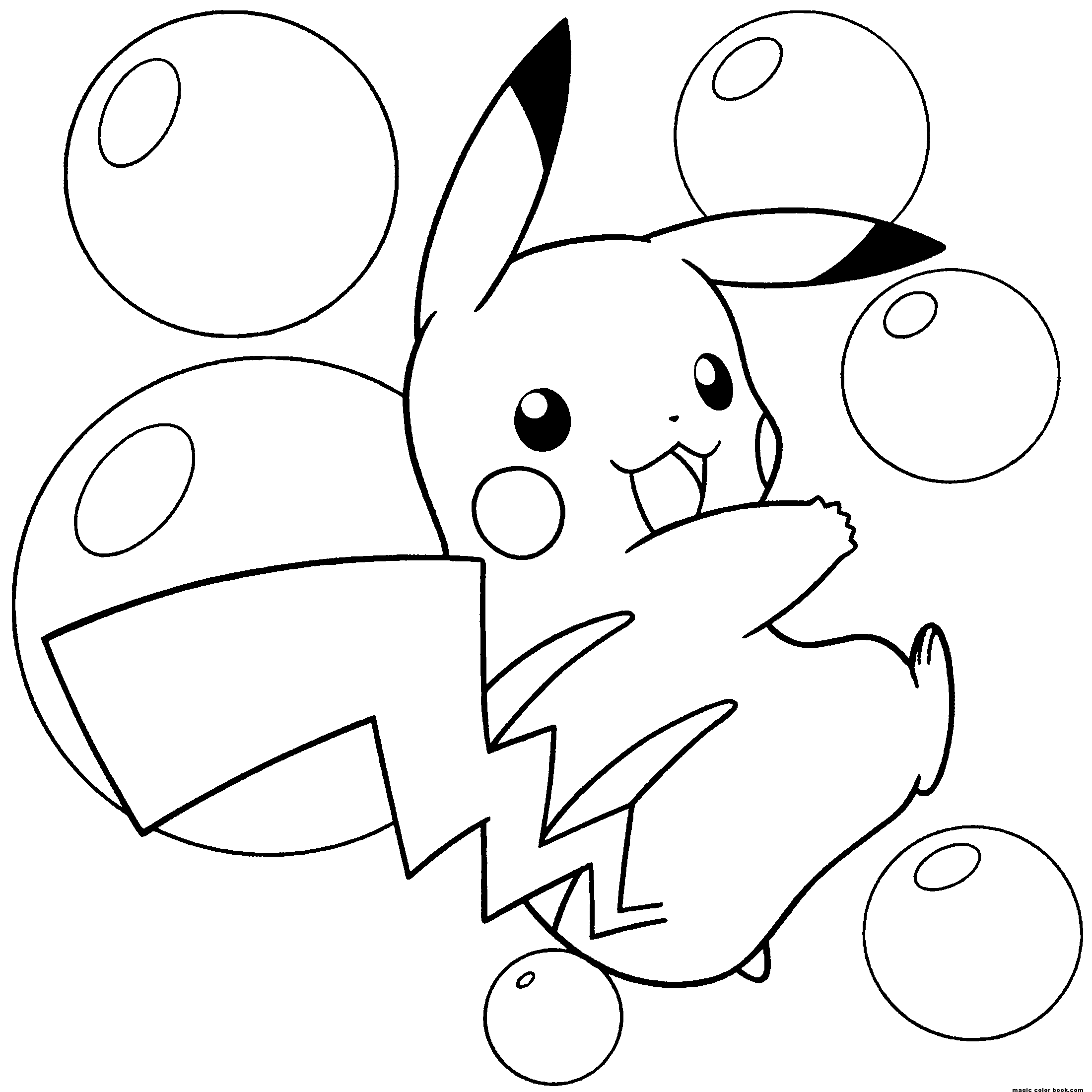 Pokemon coloring page to download for free