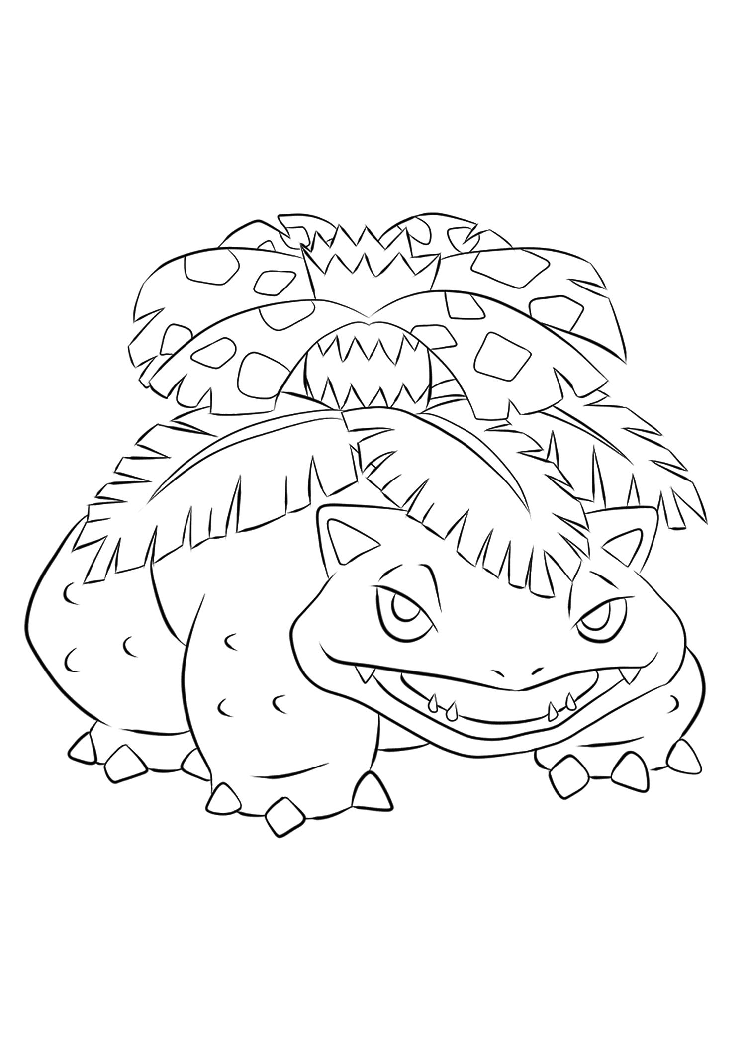 Pokemon Coloring Pages | 2121x1500
