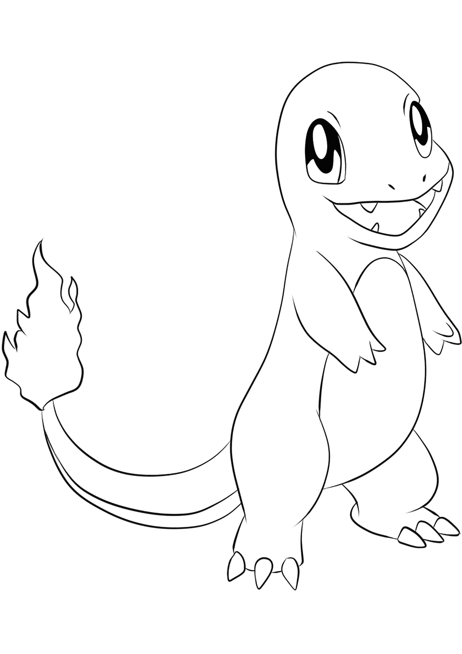 Charmander No.12 : Pokemon Generation I - All Pokemon coloring ...