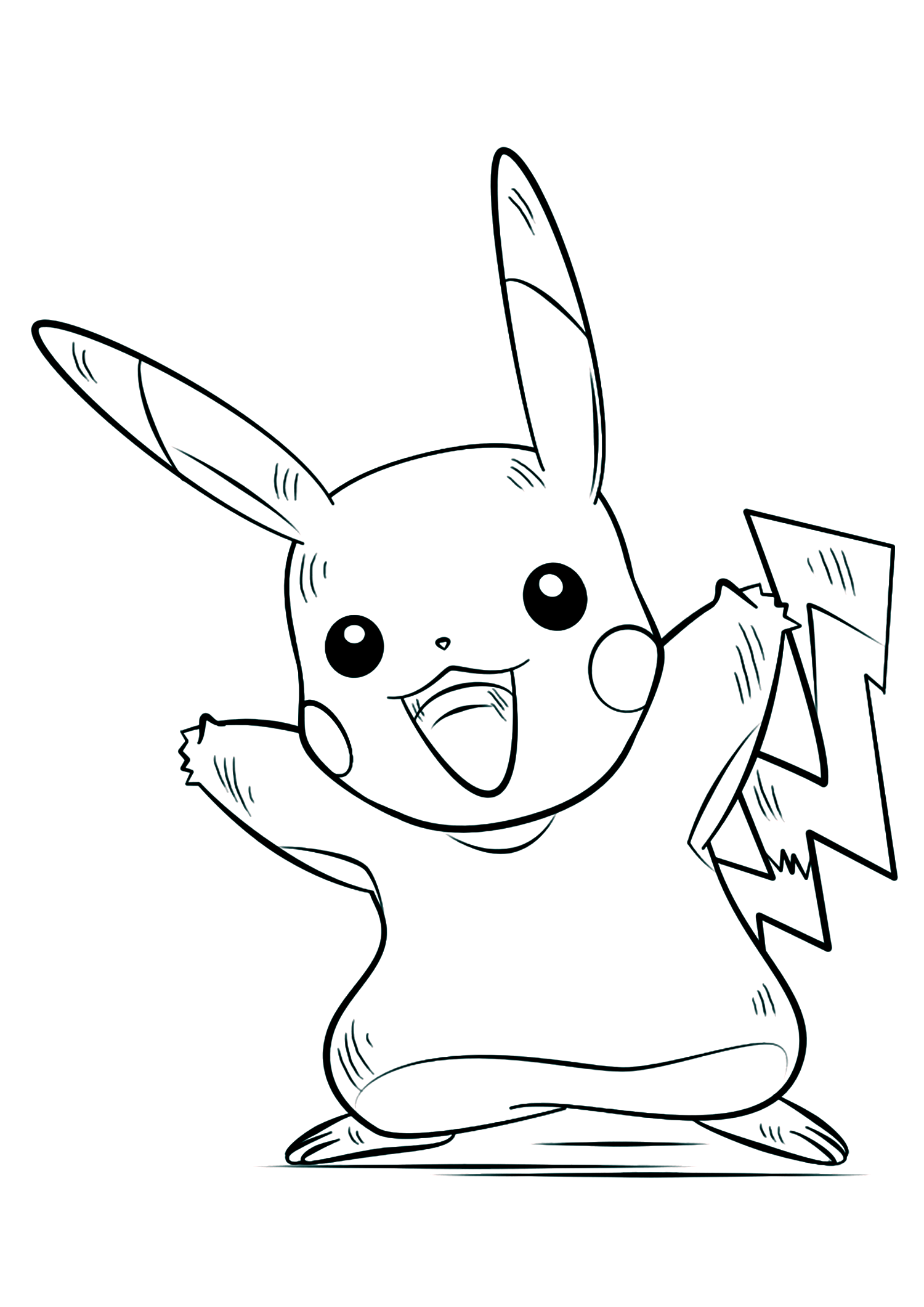 468269 Coloring Pages Of Pokemon Pikachu Wiring Resources