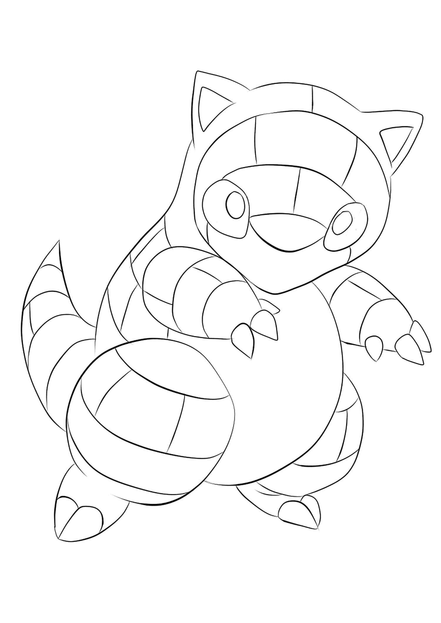 <b>Sandshrew</b> (No.27) : Pokemon (Generation I)