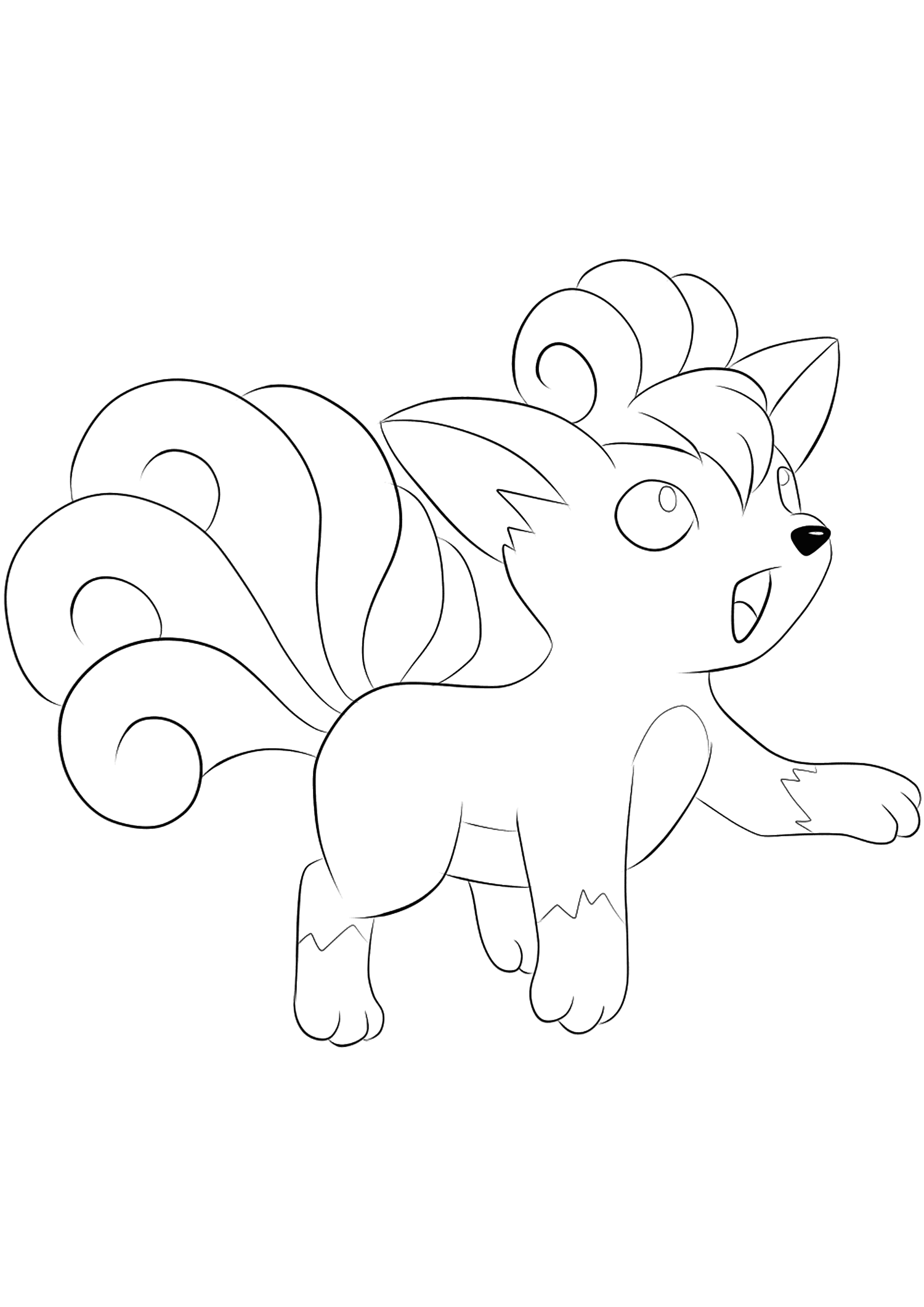 <b>Vulpix</b> (No.37) : Pokemon (Generation I)