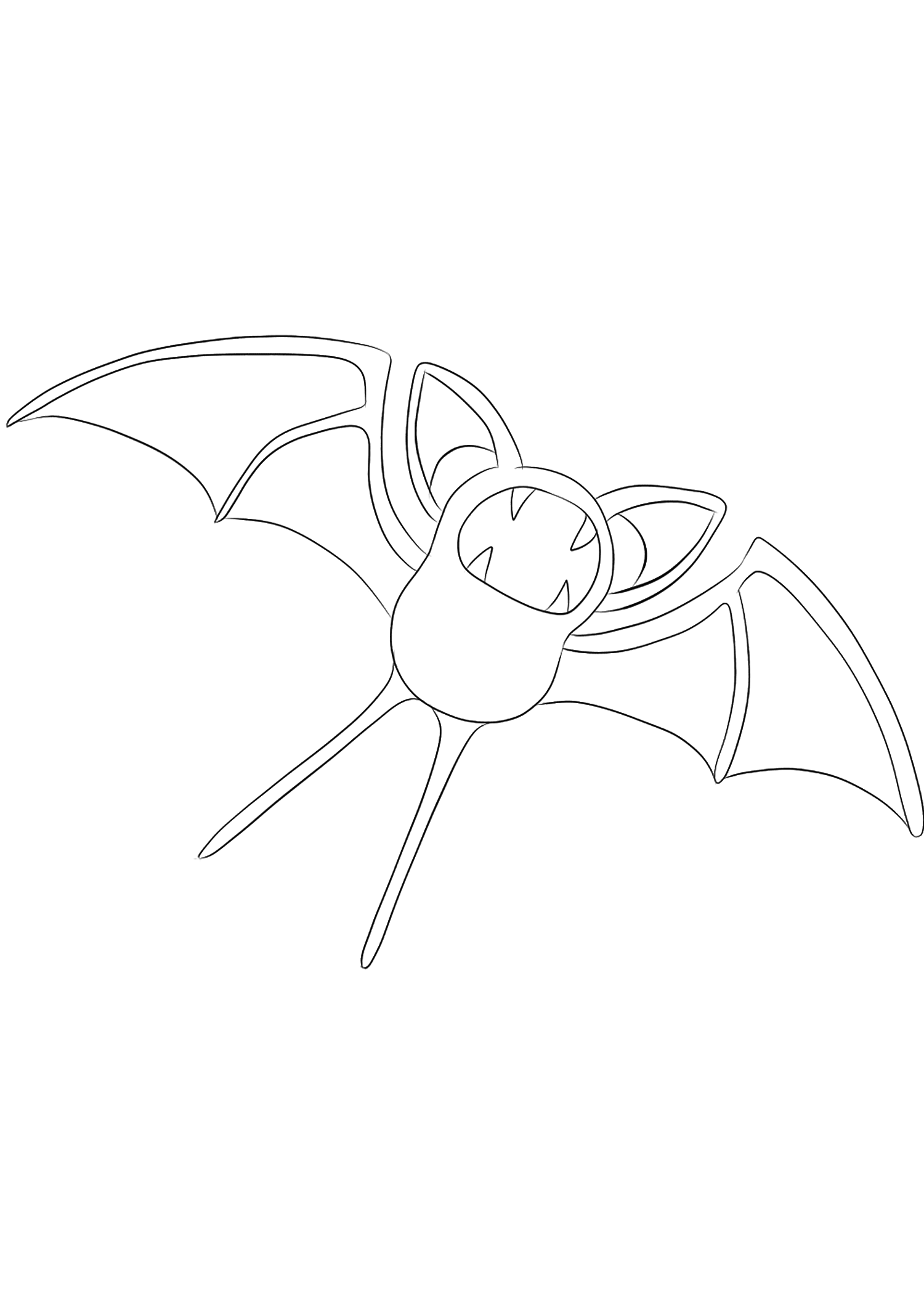 <b>Zubat</b> (No.41) : Pokemon (Generation I)