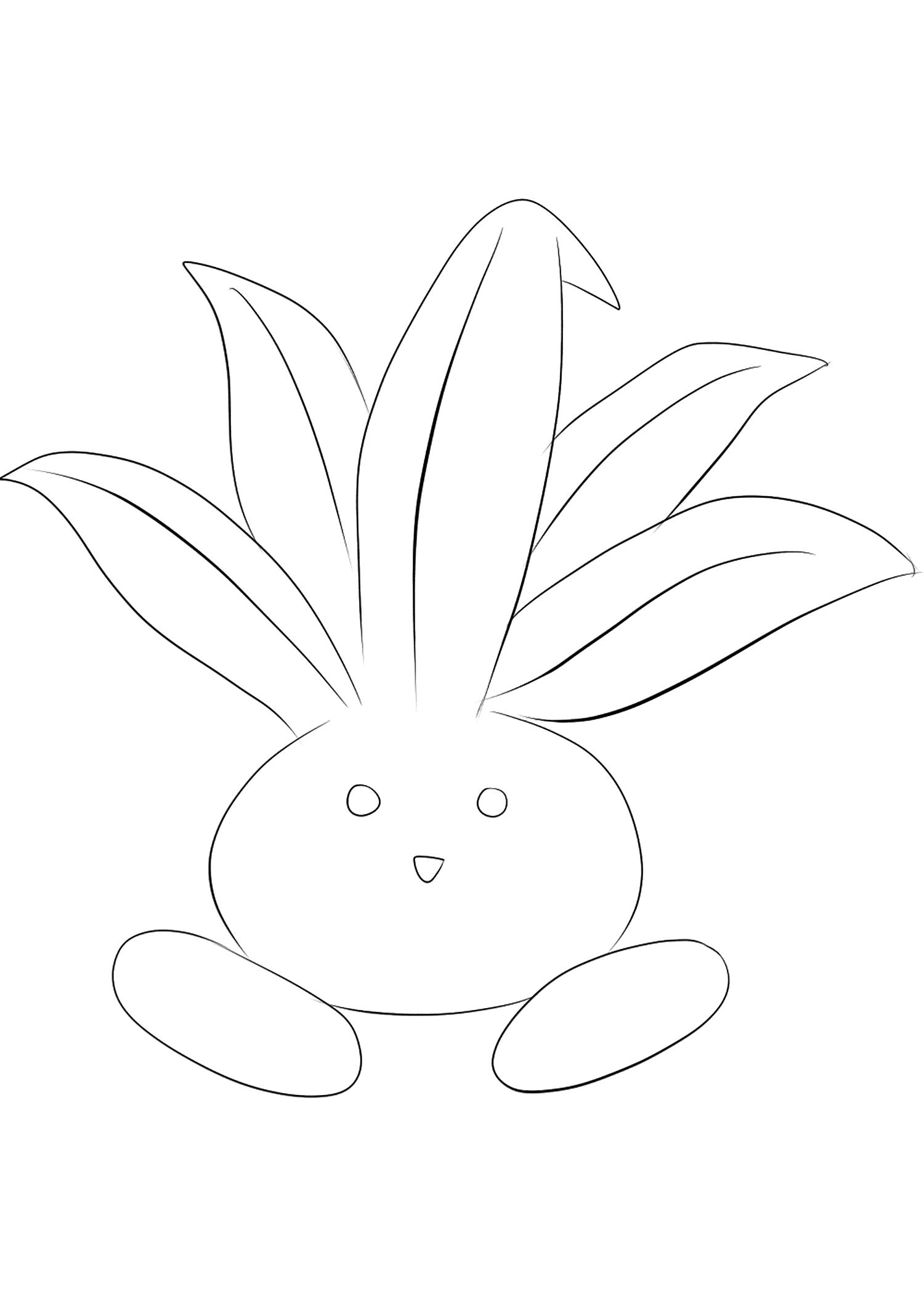 <b>Oddish</b> (No.43) : Pokemon (Generation I)