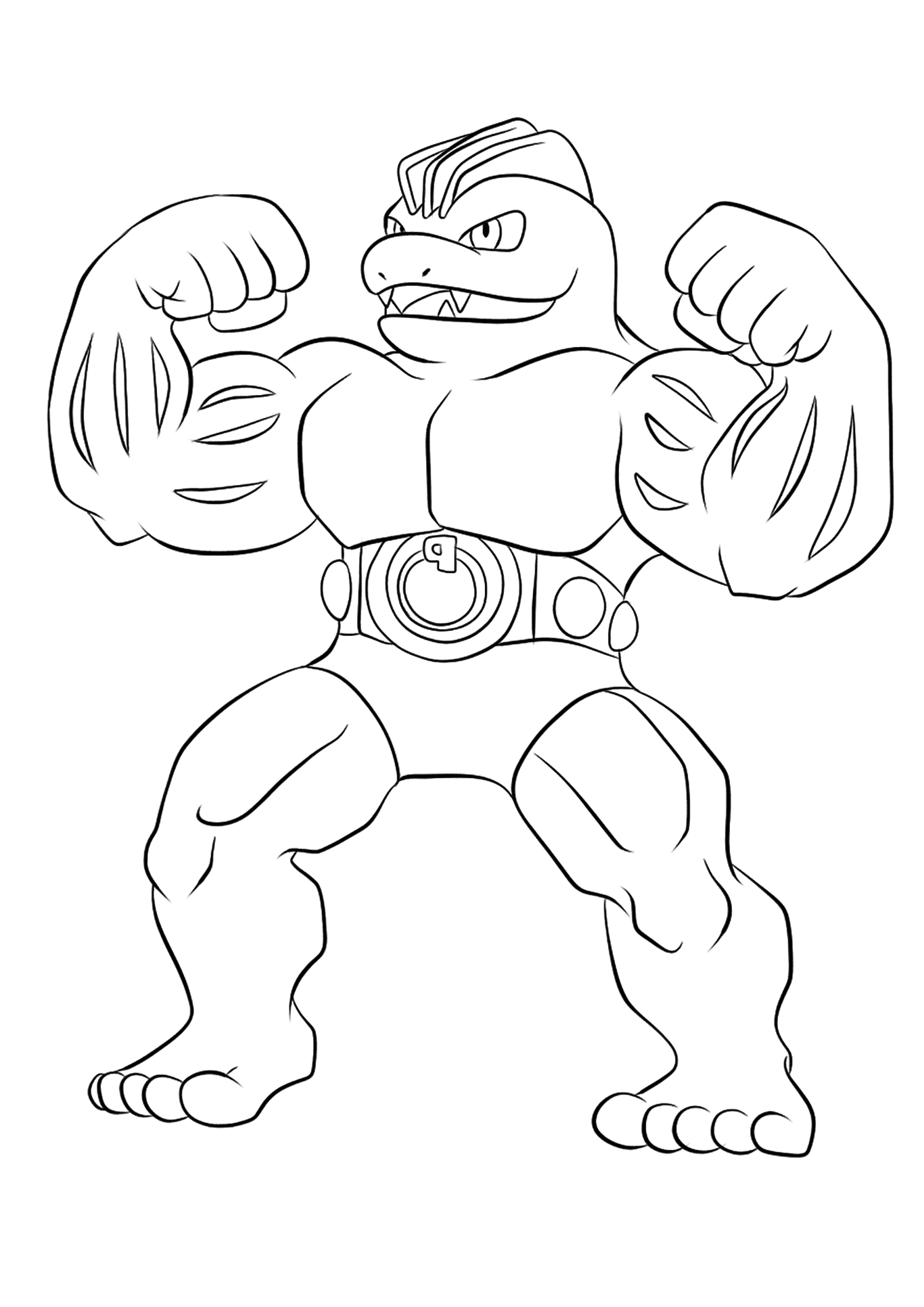 <b>Machoke</b> (No.67) : Pokemon (Generation I)