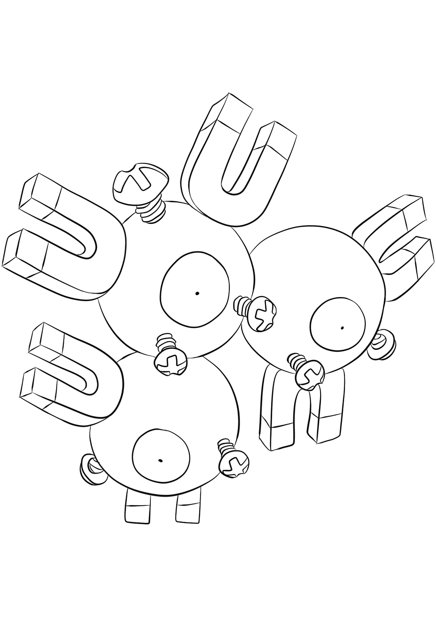 <b>Magneton</b> (No.82) : Pokemon (Generation I)