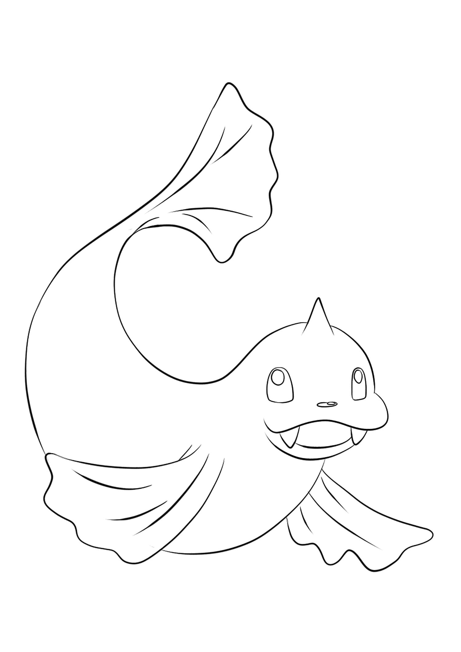 Dewgong (No.87)Dewgong Coloring page, Generation I Pokemon of type Water and IceOriginal image credit: Pokemon linearts by Lilly Gerbil on Deviantart.Permission:  All rights reserved © Pokemon company and Ken Sugimori.