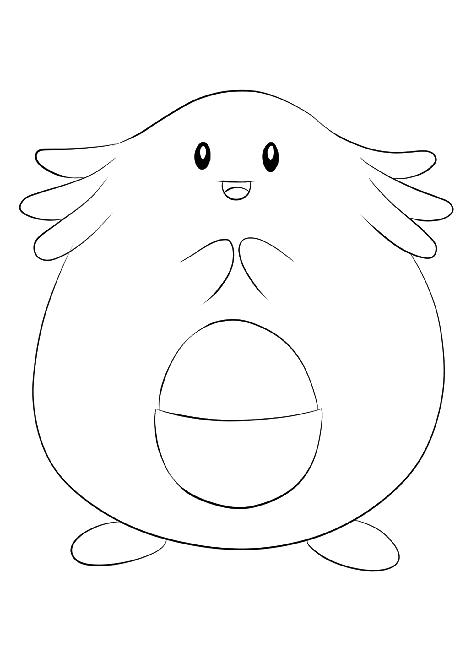 <b>Chansey</b> (No.113) : Pokemon (Generation I)