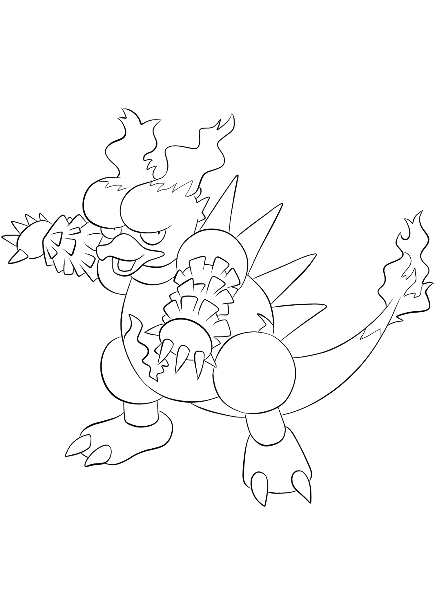 <b>Magmar</b> (No.126) : Pokemon (Generation I)