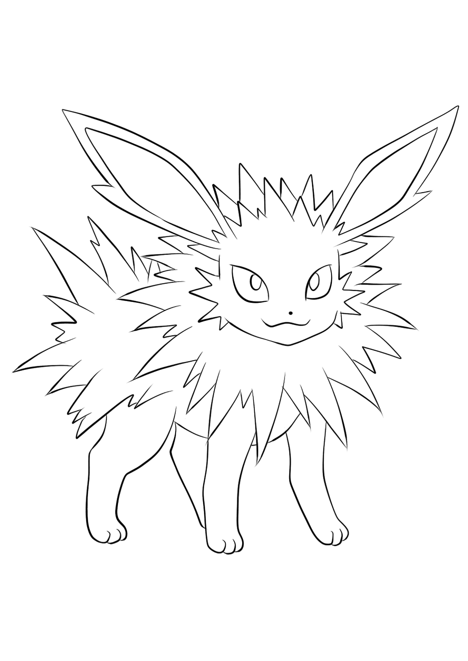 Pokemon Kleurplaten Vaporeon.Images Of Jolteon Coloring Pages Sabadaphnecottage