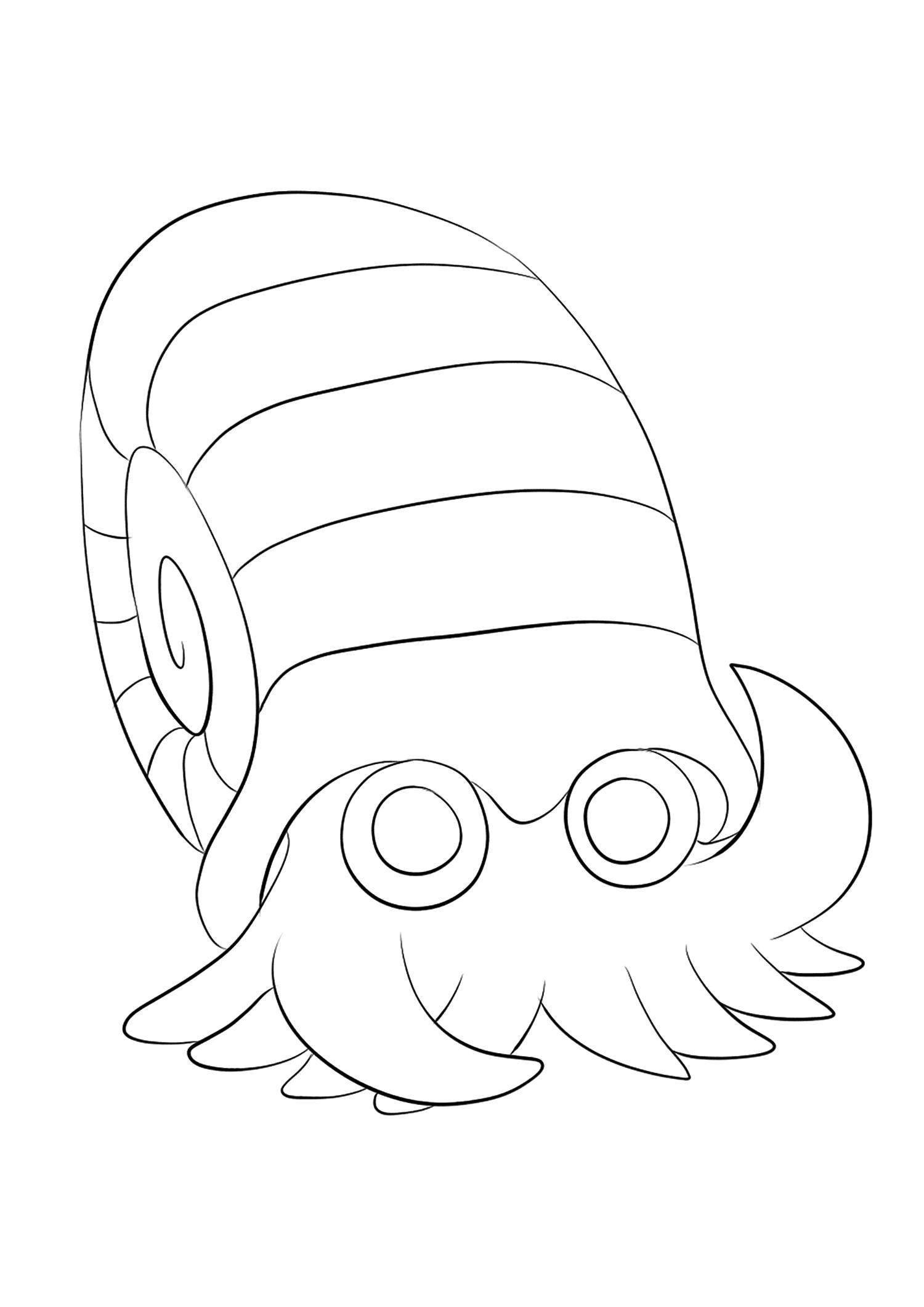 <b>Omanyte</b> (No.138) : Pokemon (Generation I)