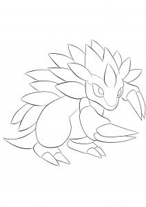 <b>Sandslash</b> (No.28) : Pokemon (Generation I)