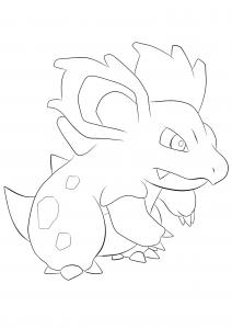 <b>Nidorina</b> (No.30) : Pokemon (Generation I)