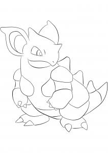 <b>Nidoqueen</b> (No.31) : Pokemon (Generation I)
