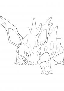 <b>Nidorino</b> (No.33) : Pokemon (Generation I)