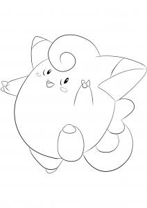 <b>Clefairy</b> (No.35) : Pokemon (Generation I)