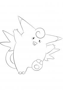 <b>Clefable</b> (No.36) : Pokemon (Generation I)
